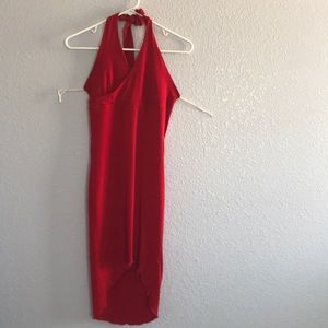 Little classic red dress